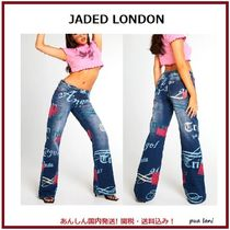 【JADED LONDON】ANGEL DISTRESSED LOW RISE BOYFRIEND ジーンズ