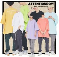 ATTENTIONROW(アテンションロー) Tシャツ・カットソー ★送料・関税込★ATTENTION ROW★FUSE BIG OVERSIZE T-SHIRT★