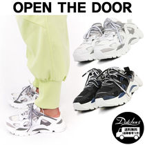 OPEN THE DOOR sporty mule sneakers MH1708 追跡付