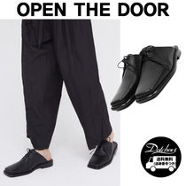 OPEN THE DOOR cow hide square bloafer MH1712 追跡付