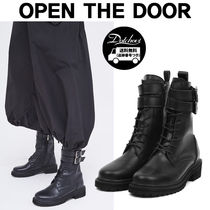 OPEN THE DOOR leather double strap walker boot MH1722 追跡付