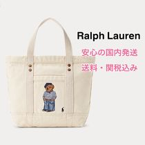 *国内発送* ポロベアー  Polo Canvas Polo Bear Small Tote
