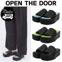 OPEN THE DOOR color platform slipper MH1725 追跡付