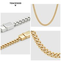 【TOM WOOD】☆新作☆ Rounded Curb Chain Thick Gold