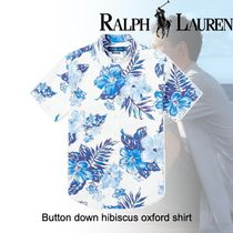 20SS◆POLO RALPH LAUREN◆Button down hibiscus oxford shirt