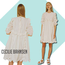 CECILIE BAHNSEN Keira パフスリーブドレス