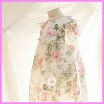 【ArimCloset】beautiful rose summer chiffon dress~ワンピース