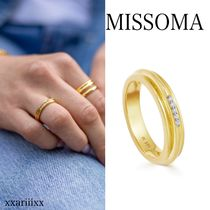 ◆NEW◆MISSOMA◆ LUCY WILLIAMS GOLD PAVE RIDGE リング