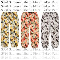 SS20 Supreme Liberty Floral Belted Pant - フローラル パンツ