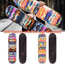 SS20 Supreme Distorted Logo Skateboard スケートボード デッキ