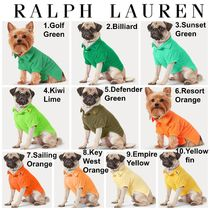 【Ralph Lauren】●カラー豊富●Cotton Mesh Dog Polo Shirt