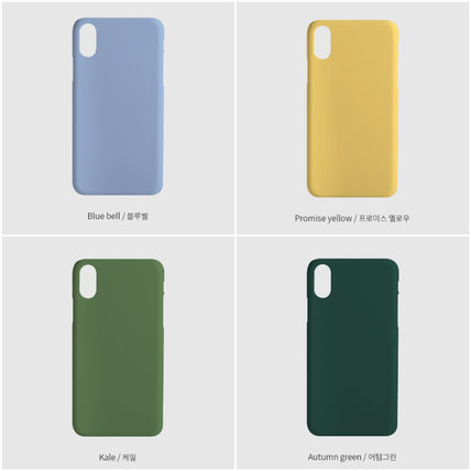 tipitipo iPhone・スマホケース [tipitipo] Simple color hard case with Strap (matte) IPhone(4)