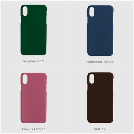 tipitipo iPhone・スマホケース [tipitipo] Simple color hard case with Strap (matte) IPhone(5)