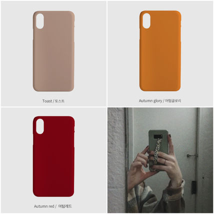 tipitipo iPhone・スマホケース [tipitipo] Simple color hard case with Strap (matte) IPhone(6)