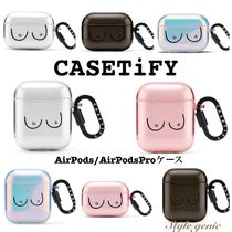 Casetify(ケースティファイ) iPhone・スマホケース 送関込☆Casetify☆Airpods/ Airpods proケース Boobs柄