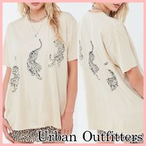 Urban Outfitters タイガー オーバーサイズ Tシャツ Neutral