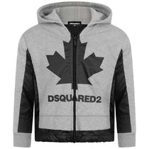 2020AW DSQUARED2 KIDS メープルジップアップ GR  (CP-150cm)
