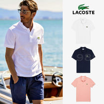 LACOSTE ラコステ ロゴ フォント 半袖 ポロシャツ