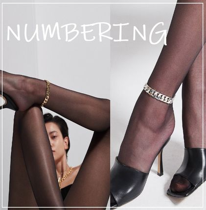 Numbering アンクレット 正規品★NUMBERING★Sharpen  Chain Anklet アンクレット/追跡付