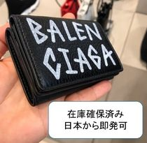 VIP SALE! 【BALENCIAGA】Arena Mini Graffiti3つ折り財布