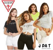 Guess(ゲス)ECO 1981 ROLLED CUFF LOGO TEE♡Tシャツ