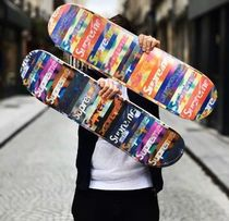 SS20 Supreme Distorted Logo Skateboard スケボー