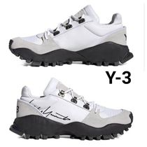 【Y-3】 KYOI Trail Sneakers ロゴスニーカー White&Black