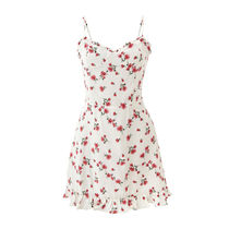 「SPOONING」WILD FLOWER DRESS (WHITE) ☆韓国正規品☆