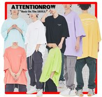 ATTENTIONROW(アテンションロー) Tシャツ・カットソー 人気★【ATTENTIONROW】★FUSE BIG OVERSIZE T-SHIRT★7色★