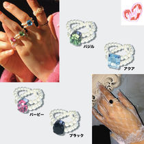 yOungly yOungley ヨンリヨンリ Go-go pearl ring
