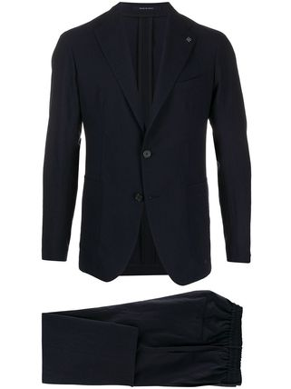 TAGLIATORE スーツ 関税込み◆NAVY BLU VIRGIN WOOL TWO-PIECE SUIT Suits(2)