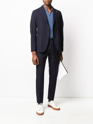 TAGLIATORE スーツ 関税込み◆NAVY BLU VIRGIN WOOL TWO-PIECE SUIT Suits(3)