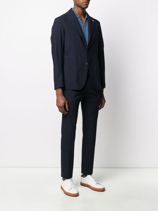 TAGLIATORE スーツ 関税込み◆NAVY BLU VIRGIN WOOL TWO-PIECE SUIT Suits(4)