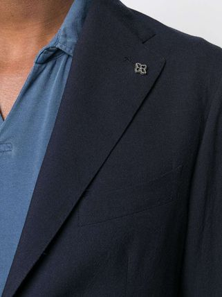 TAGLIATORE スーツ 関税込み◆NAVY BLU VIRGIN WOOL TWO-PIECE SUIT Suits(6)
