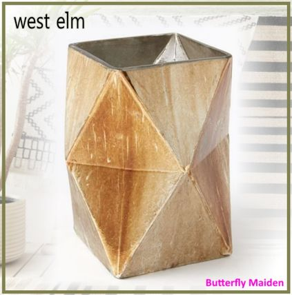 west elm キャンドル :: West elm :: Prism Mercury Vases & Candleholders (medium)(2)