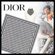 【20AW新作☆国内発送】DIOR★Dior Oblique シルク バンダナ