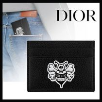 "【20AW新作☆国内発送】DIOR★""BEE"" カードホルダー/AND SHAWN"