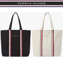 Tommy Hilfiger★SIGNATURE LINE TOTE BAG 2色