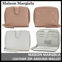 【Maison Margiela】LEATHER ZIP-AROUND WALLET