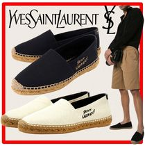 ★人気★SAINT LAURENT★サンローラン★EMBROIDERED ESPADRILLES