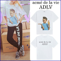 TWICE★ADLV BABY FACE SHORT SLEEVE T-SHIRT WHITE ICE CREAM