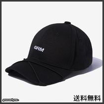 GROOVE RHYME(グルーヴライム) キャップ [GROOVERHYME] STRING PEAK BALL CAP (BLACK)