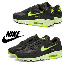 Nike ナイキ Air Max 90 W / Dark Grey & Volt / 送料込