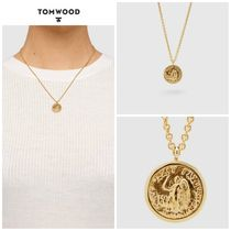 【TOM WOOD】☆新作☆ Coin Pendant Angel Gold 18 inches