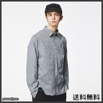 GROOVE RHYME(グルーヴライム) シャツ [GROOVERHYME] POCKET GLEN CHECK SHIRTS 1 (BLACK)
