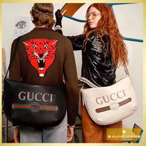 【人気作☆SALE】Gucci  Half-moon Hobo Bag ホワイトトート