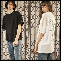 ◆COMPAGNO◆ LETTERING TATTO OVERFIT TEE (2色) 男女兼用