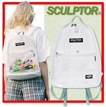 ☆韓国の人気☆SCULPTOR☆PVC Backpack☆