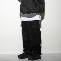 UNISEXアイテム☆wide cargo pants/FLARE UP