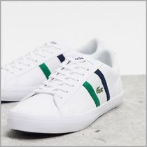 *LACOSTE*lerond 119 trainers white navy stripe